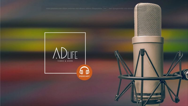ADlife Podcast: First Intro